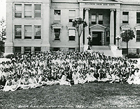 1922 Senior class at Hollywood High School