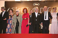 arriving at the Vous N'Avez Encore Rien Vu gala screening at the 65th Cannes Film Festival France. Monday 21st May 2012 in Cannes Film Festival, France.
