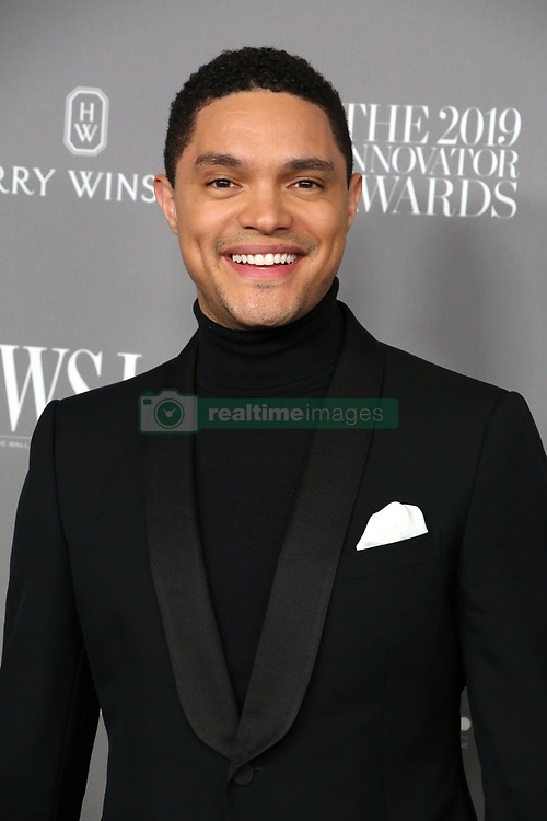 November 6, 2019, New York, New York, USA: TREVOR NOAH at the Wall Street Journal Magazine 2019 Innovator Awards,.The Museum of Modern Art, NYC.November 6, 2019.Photos by  ,   Photos Inc. (Credit Image: © Sonia Moskowitz/ZUMA Wire)