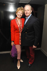 NEIL & CHRISTINE HAMILTON at a party to celebrate the 1st birthday of nightclub Kitts, 7-12 Sloane Square, London on 5th March 2008.<br />