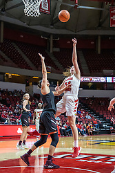 NORMAL, IL - February 27: Megan Talbot during a college women's basketball game between the ISU Redbirds and the Bears of Missouri State February 27 2020 at Redbird Arena in Normal, IL. (Photo by Alan Look)