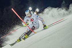 """29.01.2019, Planai, Schladming, AUT, FIS Weltcup Ski Alpin, Slalom, Herren, 1. Lauf, im Bild Manfred Moelgg (ITA) // Manfred Moelgg of Italy in action during his 1st run of men's Slalom """"the Nightrace"""" of FIS ski alpine world cup at the Planai in Schladming, Austria on 2019/01/29. EXPA Pictures © 2019, PhotoCredit: EXPA/ Dominik Angerer"""