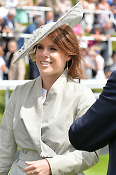 HRH PRINCESS EUGENIE OF YORK at the Qatar Goodwood Festival - Ladies Day held at Goodwood Racecourse, West Sussex on 30th July 2015.