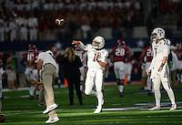 Arkansas vs. Texas A&M in the Southwest Classic at AT&T Stadium in Arlington, Texas, Saturday September 26, 2015.