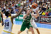 Fesenko Kyrylo<br /> Betaland Capo d'Orlando - Sidigas Avellino <br /> Campionato Basket Lega A 2017-18 <br /> Capo d'Orlando 22/04/2018<br /> Foto Ciamillo-Castoria
