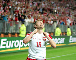 06.09.2011, PGE Arena, Danzig, POL, FSP, Polen vs Deutschland, im Bild JAKUB BLASZCZYKOWSKI BRAMKA RADOSC GOL// during the international frindly football game between Poland and Germany at PGE Arena Gdansk Poland on 2011-09-06. EXPA Pictures © 2011, PhotoCredit: EXPA/ Newspix/ Michal Novak +++++ ATTENTION - FOR AUSTRIA/(AUT), SLOVENIA/(SLO), SERBIA/(SRB), CROATIA/(CRO), SWISS/(SUI) and SWEDEN/(SWE) CLIENT ONLY +++++
