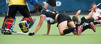 BREDA (Neth.)  Su Arn Kwek during the match  New Zealand vs England U21 women . Volvo Invitational Tournament U21. COPYRIGHT KOEN SUYK