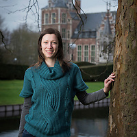 Leuven, Belgium 28 January 2014<br /> Researcher Agnese Panozzo.<br /> Photo: Ezequiel Scagnetti