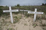 Makeshift Memorial Grand Isle