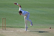 Canterbury's Edward Nuttall bowls in the Plunket Shield Cricket match, Central Districts v Canterbury, McLean Park, Napier, Tuesday, April 06, 2021. Copyright photo: Kerry Marshall / www.photosport.nz