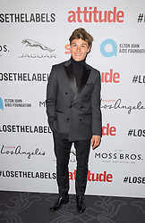 EDITORIAL USE ONLY<br /> Oliver Cheshire attends the 2016 Attitude Awards in association with Virgin Holidays, at 8 Northumberland Avenue, London.