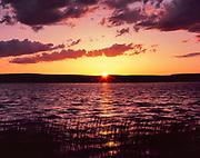 Sunset atBig Springs Reservoir,Sheldon National Wildlife Refuge, Nevada