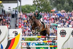 MOLONEY Peter (IRL), Chianti's Champion<br /> Aachen - CHIO 2019<br /> Mercedes-Benz Nationenpreis - 1. Umlauf<br /> Mannschaftsspringprüfung mit zwei Umläufen<br /> 18. Juli 2019<br /> © www.sportfotos-lafrentz.de/Stefan Lafrentz