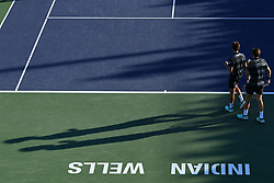 March 9, 2019 - Indian Wells, USA - Pierre Hugues Herbert and Nicolas Mahut (Credit Image: © Panoramic via ZUMA Press)