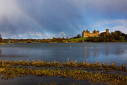 Four seasons in one day. Sun, wind, rain, hail, snow and a rainbow. Not quite summer yet!