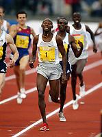 Friidrett, 12 juni 2004, Bergen Bislett Games, Golden League,  Bernard Lagat, Kenya, vant 1500 meter