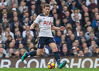 Football - 2016 / 2017 Premier League - Tottenham Hotspur vs. Leicester City<br /> <br /> Jan Vertonghen of Tottenham at White Hart Lane.<br /> <br /> COLORSPORT/DANIEL BEARHAM