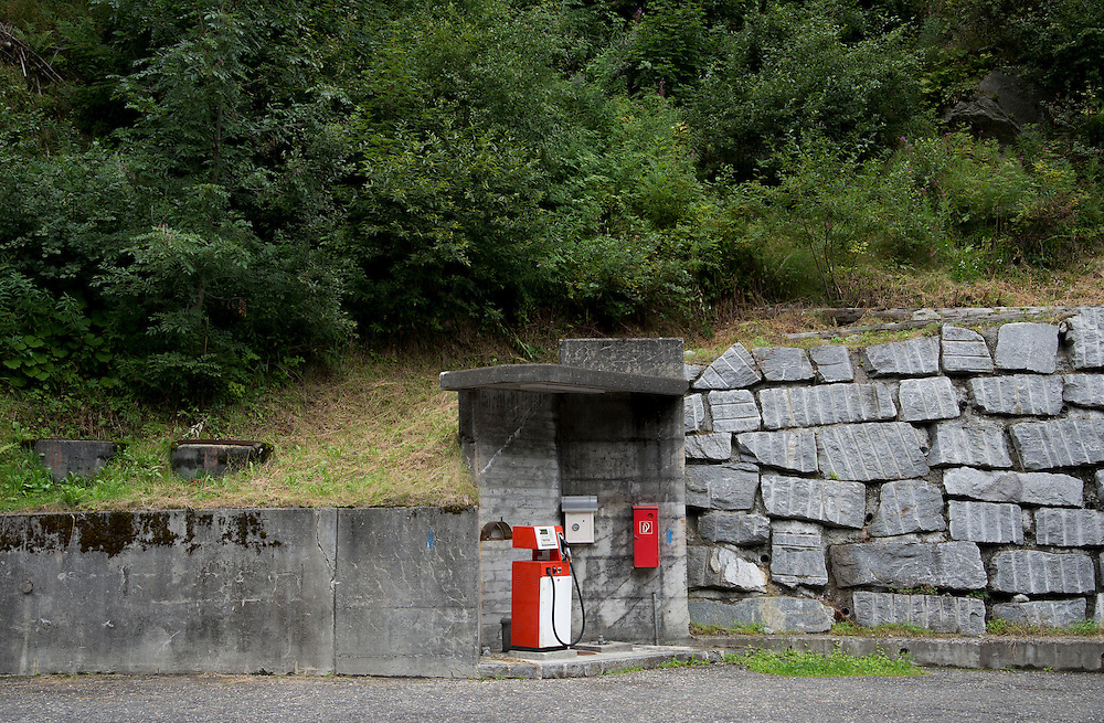 18.08.2016; Goeschenen (CH); Tankstelle an der Gotthardstrasse<br /> (Steffen Schmidt)