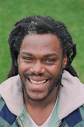 Portrait of resident of homeless hostel,