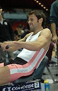 Birmingham, GREAT BRITAIN, GB International, Mark HUNTER, competing, the Open Men's Lightweights  at  the British Indoor Rowing Championships, [BIRC]. [Ergo Championships] National Indoor Arena. West Midlands 18/11/2007 [Mandatory Credit Peter Spurrier/Intersport Images]. .....