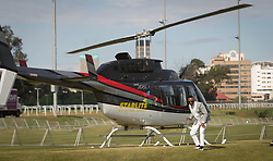 07062018 (Durban) DJ Tira arriving at the Vodacom Durban July flowing like water among the massive crowd expected at Greyville Racecourse in Durban for the running of the R4.25 million, Grade 1, Vodacom Durban July, the greatest racing, fashion and entertainment extravaganza on the African continent.<br /> Picture: Motshwari Mofokeng/African News Agency/ANA
