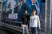 2019, June 17. Pathe ArenA, Amsterdam, the Netherlands. Marciano de Vlugt at the dutch premiere of Men In Black International.
