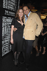 JODY FRIEDMAN and GERALD FOX at a party to celebrate the launch of Holly Peterson's debut novel 'The manny' held at Selfridges, Oxford Street, London on 26th February 2007.<br /><br />NON EXCLUSIVE - WORLD RIGHTS
