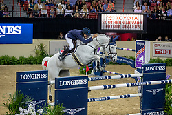 Allen Bertram, IRL, Molly Malone V<br /> World Cup Final Jumping - Las Vegas 2015<br /> © Hippo Foto - Dirk Caremans<br /> 18/04/2015