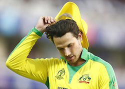 June 29, 2019 - London, United Kingdom - Nathan Coulter-Nile of Australia.during ICC Cricket World Cup between New Zealand and Australia at the Lord's Ground on 29 June 2019 in London, England. (Credit Image: © Action Foto Sport/NurPhoto via ZUMA Press)