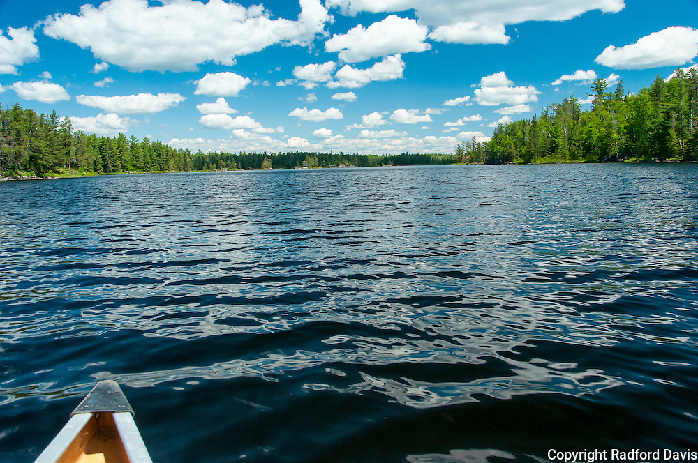 Open sky and lake, Boundary Waters