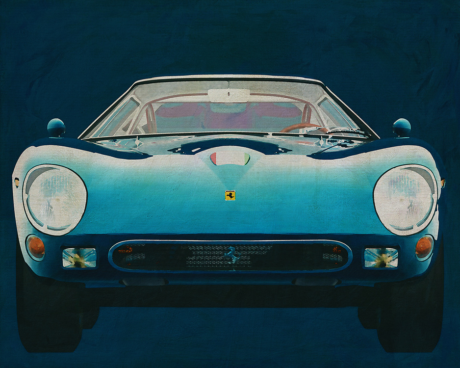 Ferrari 250GTO 1964.<br /> The Ferrari 250 GTO is a GT car produced by Ferrari from 1962 to 1964 for homologation into the FIA's Group 3 Grand Touring Car category. It was powered by Ferrari's Tipo 168/62 Colombo V12 engine. -<br /> <br /> BUY THIS PRINT AT<br /> <br /> FINE ART AMERICA<br /> ENGLISH<br /> https://janke.pixels.com/featured/ferrari-250gto-1964-jan-keteleer.html<br /> <br /> WADM / OH MY PRINTS<br /> DUTCH / FRENCH / GERMAN<br /> https://www.werkaandemuur.nl/nl/shopwerk/Ferrari-250GTO-1964-Voorkant/571907/132