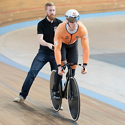 19-02-2020: Wielrennen: persmoment KNWU: Alkmaar <br />Jeffrey Hoogland