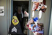Sergeant Crumley's locker.