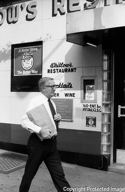 Whitlows Restaurant 10th and E Street NW Washington DC
