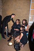 PATRIK SCHUMACHER; ; ZAHA HADID; MYA; ELISKA KAPRITSKY;, VIP opening  of the new Serpentine Sackler Gallery designed by Zaha Hadid . Kensinton Gdns. London. 25 September 2013