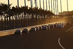 November 19, 2017 - Homestead, Florida, United States of America - November 19, 2017 - Homestead, Florida, USA: Martin Truex Jr (78) battles for position during the Ford EcoBoost 400 at Homestead-Miami Speedway in Homestead, Florida. (Credit Image: © Justin R. Noe Asp Inc/ASP via ZUMA Wire)