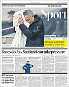 February 06, 2021 (UK): Front-page: Today's Newspapers In United Kingdom