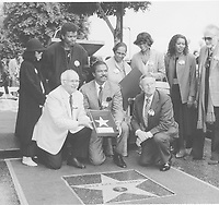 1985 Billy Dee Williams' Walk of Fame ceremony