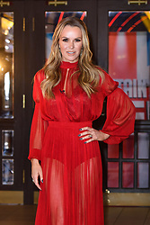 Judge Amanda Holden attending the Britain's Got Talent auditions at the Blackpool Opera House, Blackpool. Picture date: Tuesday January 16th, 2018. Photo credit should read: Matt Crossick/ EMPICS Entertainment.