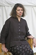 Writer Marguerite Alexander pictured at the Edinburgh International Book Festival where she talked about her acclaimed debut novel set in Ireland entitled Grievance. The Book Festival was the World's largest literary event and featured writers from around the world. The 2006 event featured around 550 writers and ran from 13-28 August.