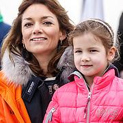 NLD/Biddinghuizen/20160306 - Hollandse 100 Lymphe & Co 2016, Pr. Aimee en dochter Magali Margriet Eleonoor