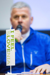 I feel Slovenia during Press conference before 57th Pokal Vitranc, on February 23, 2018 in Petrol, Ljubljana, Slovenia. Photo by Ziga Zupan / Sportida