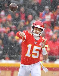 Dec 15, 2019; Kansas City, MO, USA; during the first half at Arrowhead Stadium. Mandatory Credit: Denny Medley-USA TODAY Sports