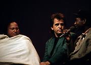Peter Gabriel with Nusrat Ali Khan