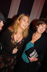 Left to right, LADY KINVARA BALFOUR and her mother the COUNTESS OF BALFOUR at a party hosted by jeweller Theo Fennell and Dominique Heriard Dubreuil of Remy Martin fine Champagne Cognac entitles 'Hot Ice' held at 35 Belgrave Square, London, W1 on 26th October 2004.<br />