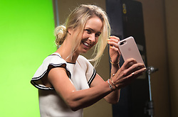 October 20, 2018 - Kallang, SINGAPORE - Elina Svitolina of the Ukraine during the All Access Hour of the 2018 WTA Finals tennis tournament (Credit Image: © AFP7 via ZUMA Wire)