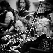 NLD/Hilversum/20130930 - Repetitie Metropole Orkest voor concert, Isabella Petersen en ............
