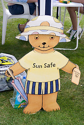 Sun safe sign,