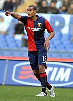 """Matteo Ferrari (Genoa)<br /> Roma 23/10/2008 Stadio """"Olimpico"""" <br /> Campionato Italiano Serie A 2008/2009<br /> Lazio Genoa (1-1)<br /> Foto Massimo Oliva Insidefoto"""