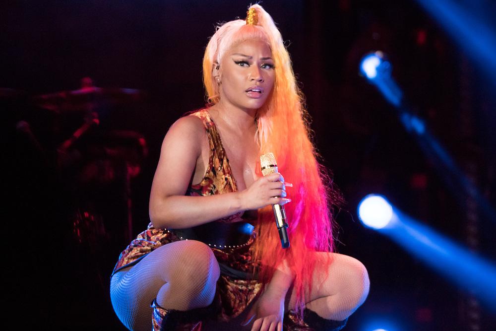 Nicki Minja performs at Made In America in Philadelphia, PA on September 2, 2018.